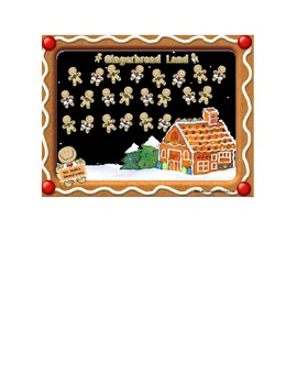 Smartboard Attendance File Gingerbread Theme with 3 program options