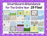 Smartboard Attendance For the Entire Year -29 Files!