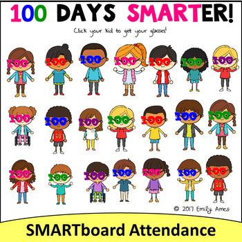 Smartboard Attendance Growing Bundle (Smart Board)