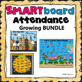 Smartboard Attendance Growing Bundle (Smart Board)