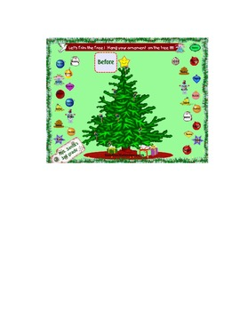 Smartboard Attendance Let's Trim a Tree
