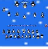 Smartboard Attendance Penguin Theme
