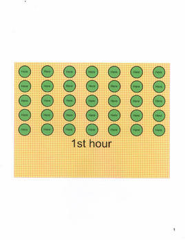 Smartboard Attendance Program