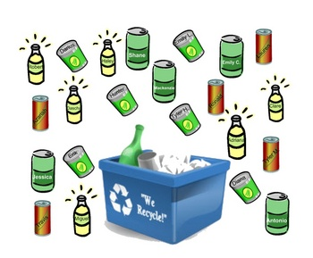 Smartboard Attendance - Recycling Theme