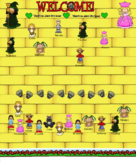 Smartboard Attendance Wizard of Oz Theme