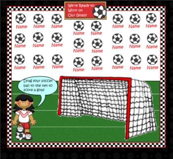 Smartboard Attendance/Soccer Theme