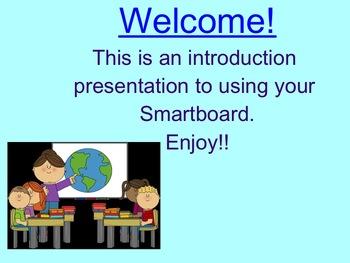 Smartboard Basics- introduction to Smart technology