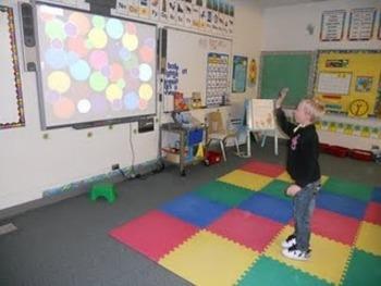Smartboard Bean-Bag Back-to-School Game