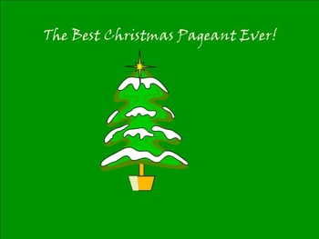 Best Christmas Pageant Ever Smartboard Activities