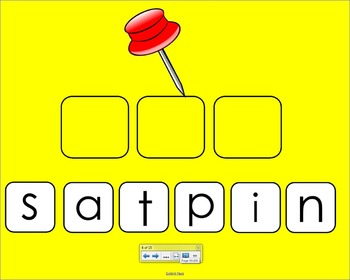 Smartboard CVC Activity - SATPIN