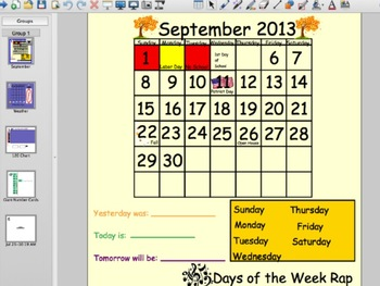 Smartboard Calendar 13-14