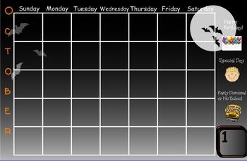 Smartboard Calendar