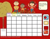 Smartboard Calendar September