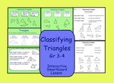 Smartboard Classifying Triangles (Interactive)
