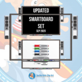 Smartboard Clip Art for distance learning and classroom use