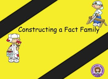 Smartboard Constructing a Fact Family