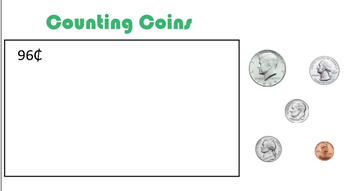 Smartboard Counting Coins