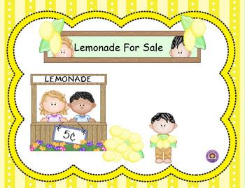 Smartboard Counting Money < $1.00 Lemonade Stand