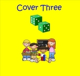 Smartboard Cover Three Addition to 18 Center or Group Activity