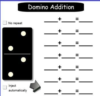 Smartboard: Domino Addition