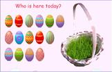 Smartboard Easter Attendance