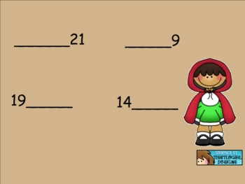 Smartboard Fill in the Missing Number