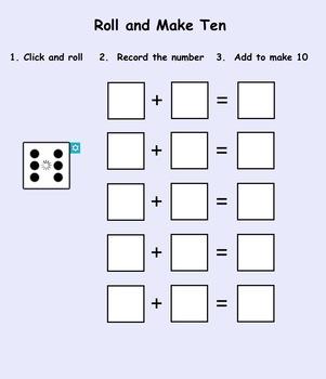 Smartboard: Find the Missing Number