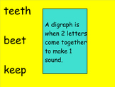 (Smartboard) First Grade Saxon Phonics Lesson 34: Digraph EE