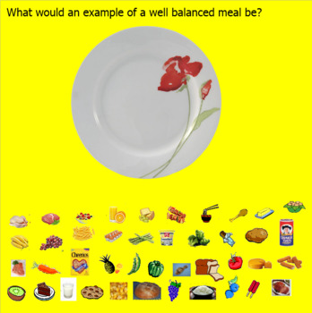 Smartboard Food Pyramid Healthy Eating