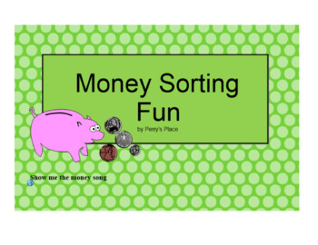 Smartboard Fun:  Sorting Money by Coin/Value and Coin Inde