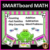 Smartboard Activities Math with Frogs