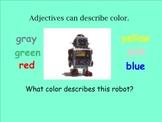 Adjectives Unit (Smartboard Grammar)