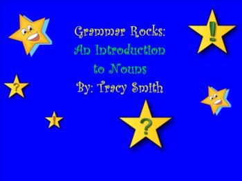 Nouns: An Introduction to Nouns (Smartboard Grammar)