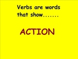 Suffix ed: Past Tense Verbs (Smartboard Grammar)