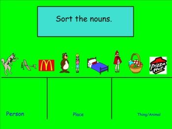Nouns: Person and Place Nouns