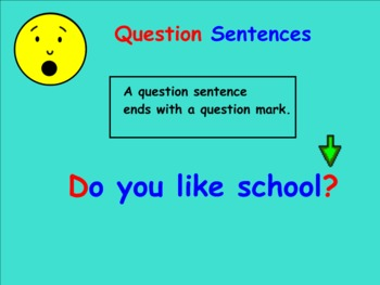 Question/Asking and Excitement Sentences