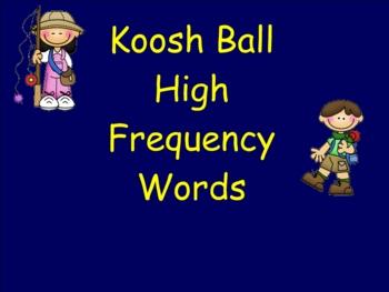 Smartboard HFW Koosh Ball Game