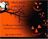 Smartboard Halloween Homophones Lesson
