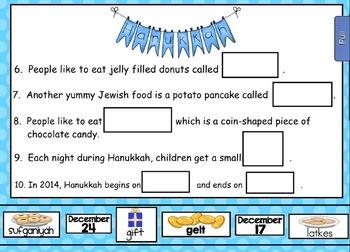 Smartboard Holiday Celebrations BUNDLE - Hanukkah and Kwanzaa