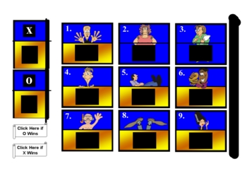 Smartboard Hollywood Squares for Ancient Egypt