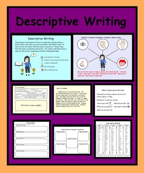 Smartboard:  How to Write a Descriptive Paragraph