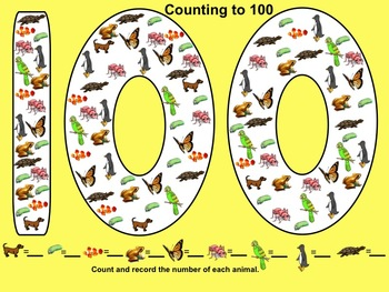 Smartboard: Hundredth Day Activities and printables
