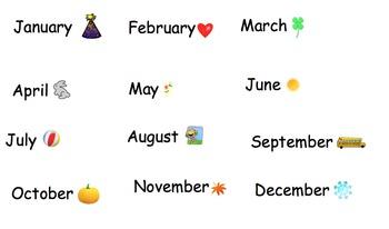 Smartboard Interactive Calendar