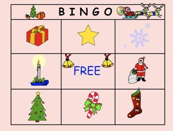 Smartboard: Interactive Christmas Bingo