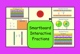 Smartboard Interactive Fractions (Equivalent Fractions)