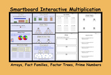 Smartboard Interactive Multiplication (Arrays, Fact Families, Factor Trees)