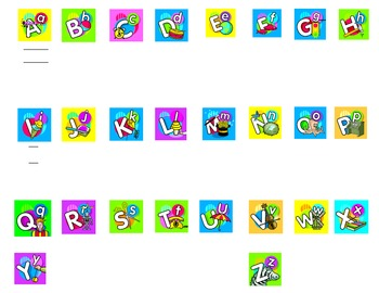 Smartboard Kindergarten Word Wall 1.1