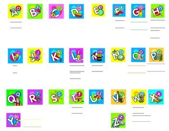 Smartboard Kindergarten Word Wall 2.5