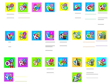 Smartboard Kindergarten Word Wall 2.6