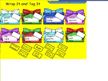 Smartboard Labeling Categorizing